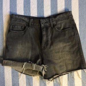 BDG Grey Jean Shorts NWOT Size- 29